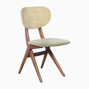Green Scissor Chair by Louis van Teeffelen for WeBe, 1960s