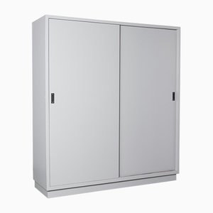 Laborschrank in Grau mit Tür