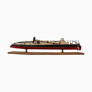 Antique Model of Yarrow Torpedo Boat, 1879