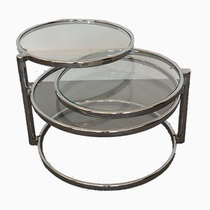 Vintage French Coffee Table, 1970s