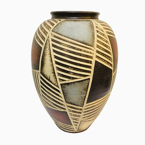 Sgraffito Sawa Vase from Ritz Keramik, 1960s