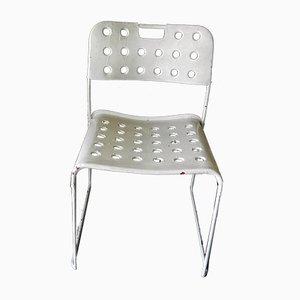Modell Omstak Stühle von Rodney Kinsman für Bieffeplast, 1970er, 4er Set