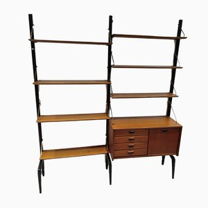 Mid-Century Wall Unit by Louis van Teeffelen for WéBé, 1950s