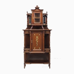 Antique Empire Chiffonier Cabinet, 1910s