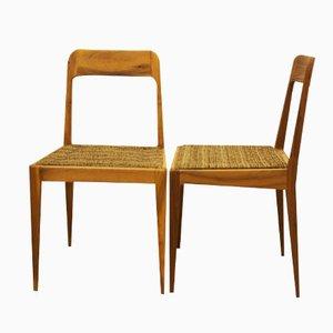 Österreichische A 7 Stühle von Carl Auböck für Auböck, 2er Set