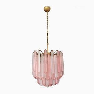 Murano Glasprismen Deckenlampe, 1970er