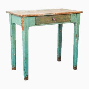 Vintage Painted Wooden Desk, 1940s