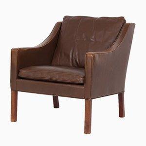 Club chair nr. 2207 di Børge Mogensen per Fredericia, anni '60