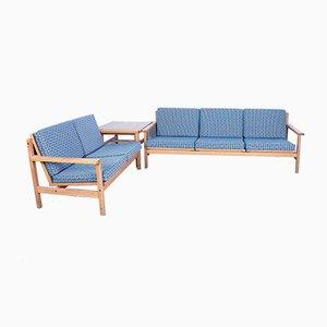 Dänisches Mid-Century Sofa Set von Laboremus Viborg, 1960er