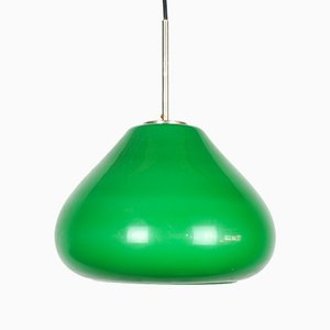 Vintage Italian Glass Pendant Lamp, 1960s