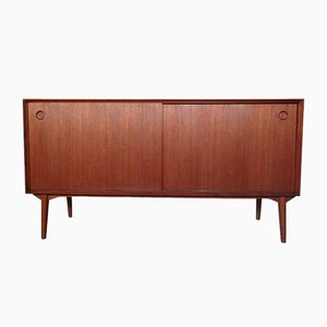 Small Teak Sideboard by Wilhelm Renz, 1950s