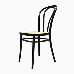 Antique Bentwood Dining Chairs in the Style of Thonet, 1960s, Set of 4