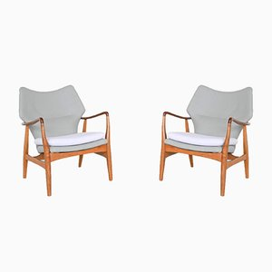 Wingback Chairs by Aksel Bender Madsen for Bovenkamp, the Netherlands, 1960s, Set of 2
