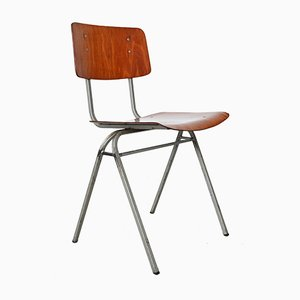 Dutch Industrial Stacking Chair, 1960s