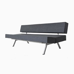 Dutch Modernist Grey Daybed Sofa, 1960s