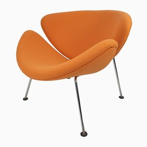 Orange Slice Lounge Chair by Pierre Paulin for Artifort, 1980s