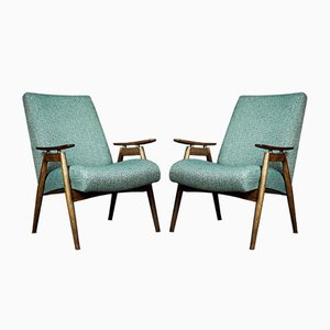 Mid-Century Czechoslovak Model 6950 Lounge Chairs by Jaroslav Šmídek for Jitona, 1960s, Set of 2