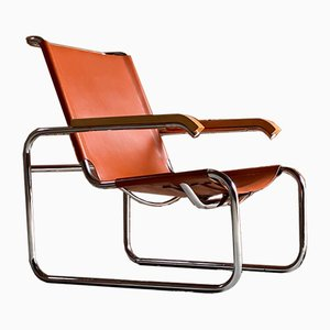 Model B35 Lounge Chair by Marcel Breuer for Thonet, 1930s