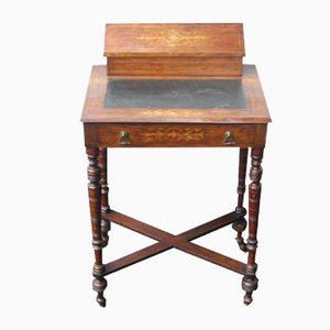 Small Side Mahogany Writing Desk, 1920s