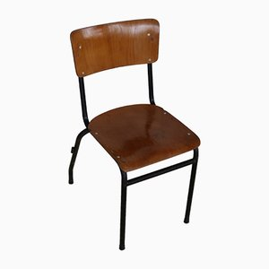 Chaise d'École Vintage, 1950s