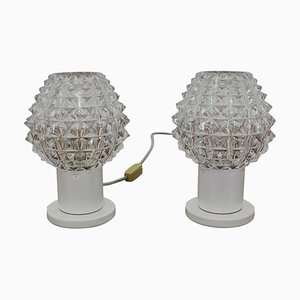 Table Lamps from Kamenický Šenov, 1960s, Set of 2