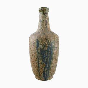 Große Vase aus glasiertem Steingut von Patrick Nordstrøm für Royal Copenhagen, 1940er