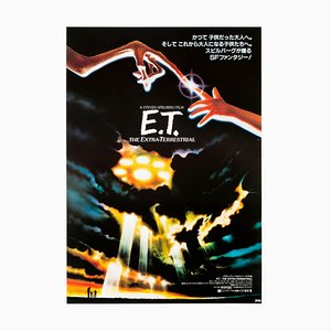E.T. The Extra Terrestrial Poster by John Alvin, 1982