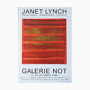 Janet Lynch Exhibition Poster for Galerie Not, 1998