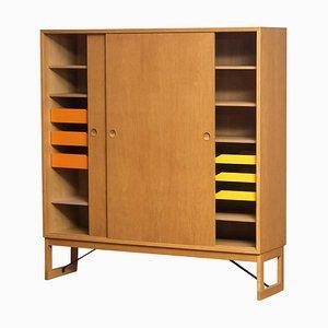 Mueble Slim de roble de Børge Mogensen para Karl Andersson, Sweden, años 70
