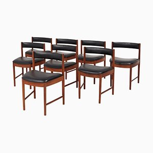 MId-Century Teak 4103 Dining Chairs by A.H. McIntosh Furniture, 1970s, Set of 8