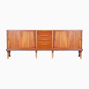 Walnut Dressoir by Rudolf Glatzel for Fristho, 1956