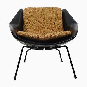 Mid-Century Modern FM08 Stuhl mit Losen Kissen von Cees Braakman für Pastoe, 1950er