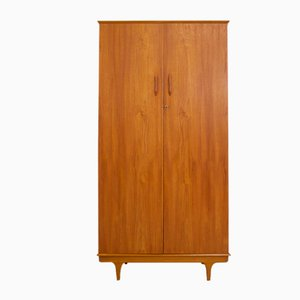 Mid-Century Teak Wardrobe from M & T London, 1960s