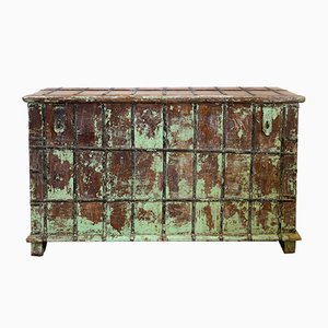 Antique Indian Painted Chest Cabinet or Sideboard, 1900s