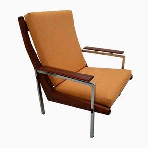 Palisander Lotus Sessel von Rob Parry für De Ster Gelderland, 1960er