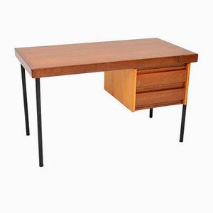 Vintage Mahogany Desk, 1950s