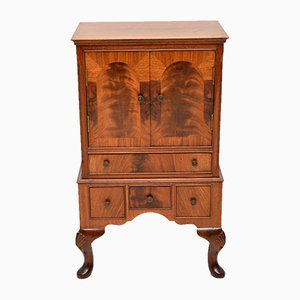 Mahogany Cabinet or Glove Chest of Drawers, 1920s