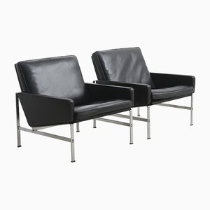 Model FK 6720 Easy Chairs by Preben Fabricius & Jørgen Kastholm for Kill International, Germany, 1960s, Set of 2