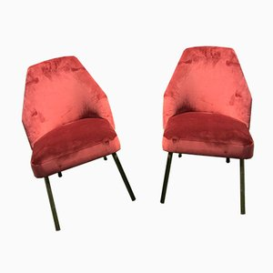 Mid-Century Campanula Chairs by Carlo Pagani for Arflex, Set of 2