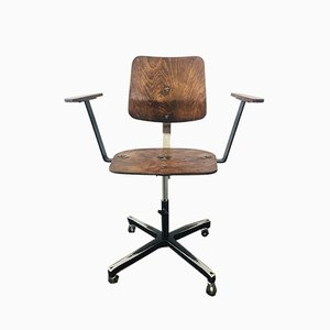 Vintage Industrial Work Chair from Avon, 1950s