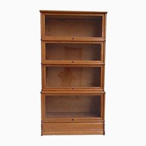 Antique Light Oak Bookcase from Globe Wernicke