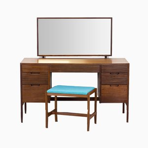 Afromosia Dressing Table or Desk by Richard Hornby for Fyne Ladye, 1960s