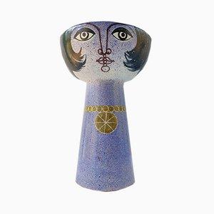 Large Glass Vase from Alfaraz, 1980s