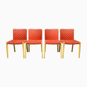 Vintage 757 Dining Chairs by Peter Maly for Thonet, Set of 24