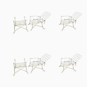 Wrought Iron Garden Furniture Set, 1950s