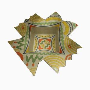 Jarrón de porcelana escultural de Fiume Laura para Rosenthal, años 70