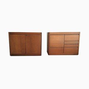 Sideboards von Angelo Mangiarotti für Molteni, 1964, 2er Set