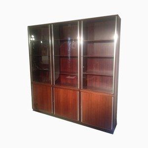 Rosewood Bookcase by Osvaldo Borsani for Tecno, 1950s