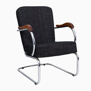 Chrome Tubular Armchair from Kovona, 1960s