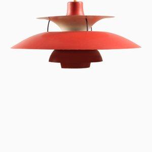 Lampe à Suspension Modèle PH5 Vintage par Poul Henningsen pour Louis Poulsen, 1970s